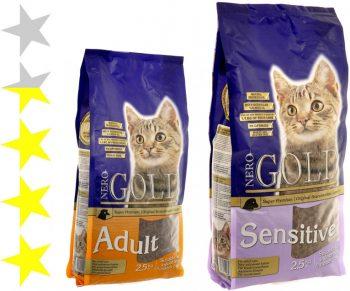 Корм для кошек Nero Gold