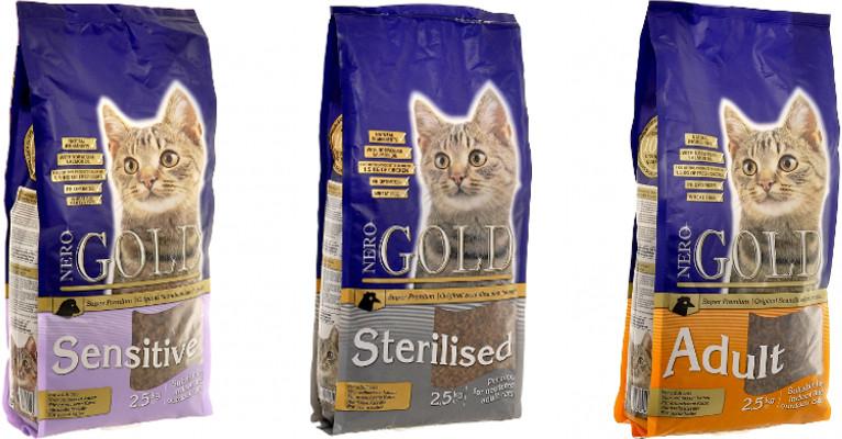 Корм для кошек Nero Gold - отзывы