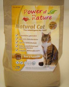 Отзыв о корме для кошек Power of Nature
