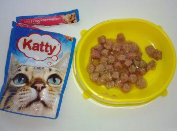 Влажный корм для кошек Кэтти
