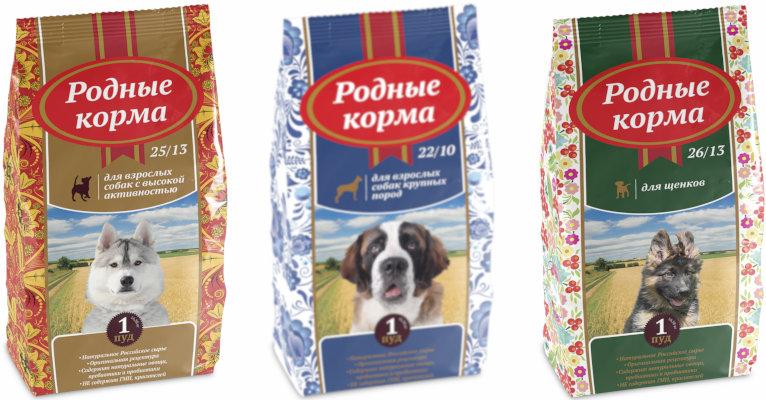Корм для собак «Родные корма» - отзывы