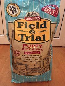 Отзыв о корме для собак Skinners Field & Trial