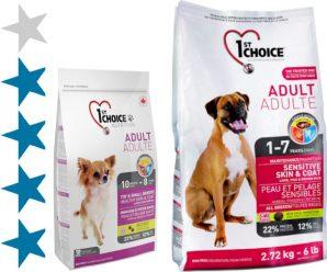 Корм для собак 1st Choice: отзывы, разбор состава, цена