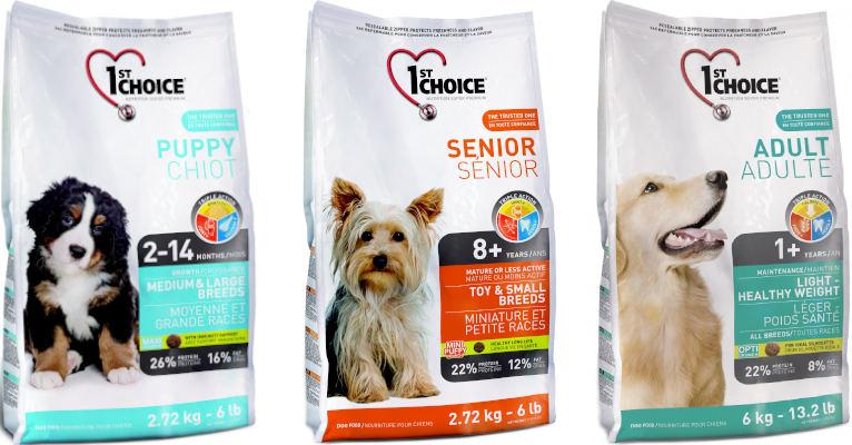 Корм для собак 1st Choice - отзывы