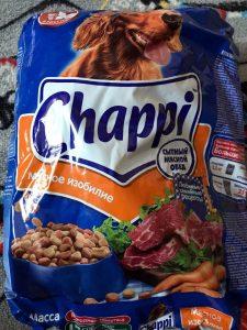Корм для собак Чаппи - отзывы