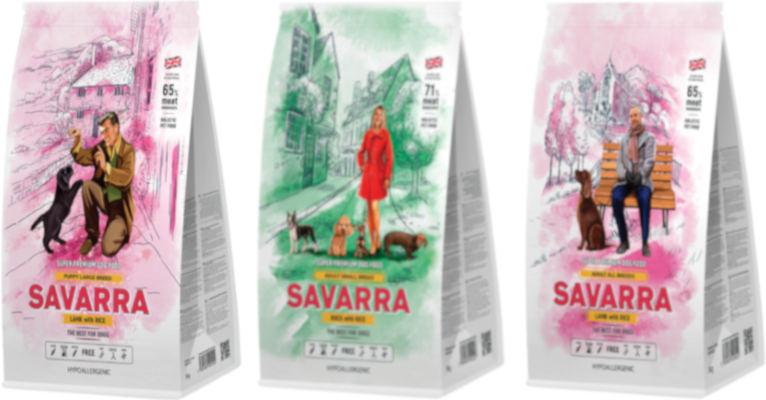 Корм для собак Savarra - отзывы