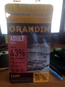 Отзывы о корме для собак Grandin