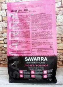 Отзывы о корме для собак Savarra - фото состава