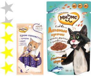Корм для кошек Мнямс: отзывы, разбор состава, цена