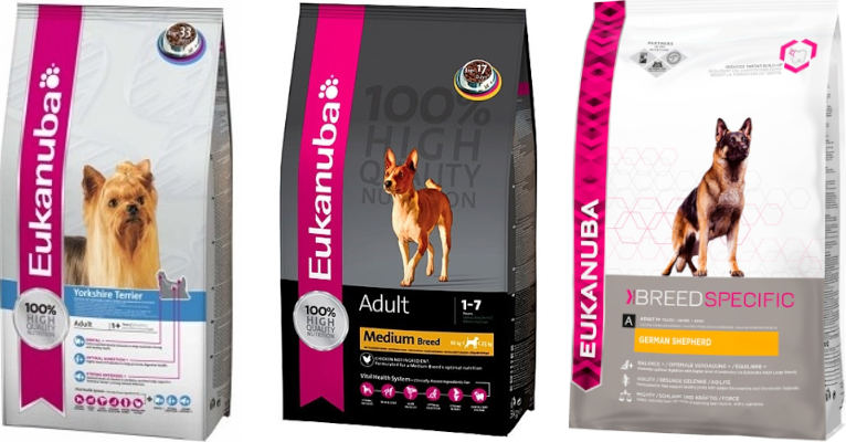 Корм для собак Eukanuba - отзывы