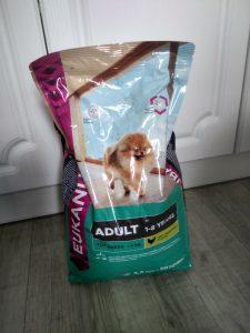 Отзыв о корме для собак Eukanuba
