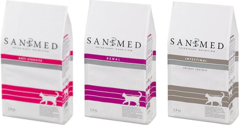 Корм для кошек Sanimed - отзывы