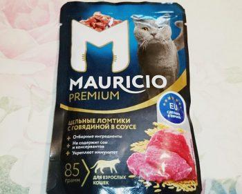 Отзыв о корме Mauricio для кошек
