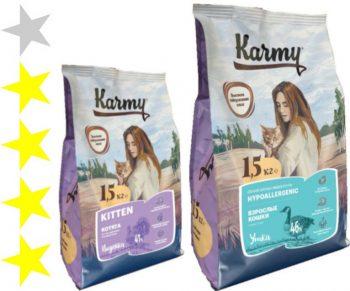 Корм для кошек Karmy