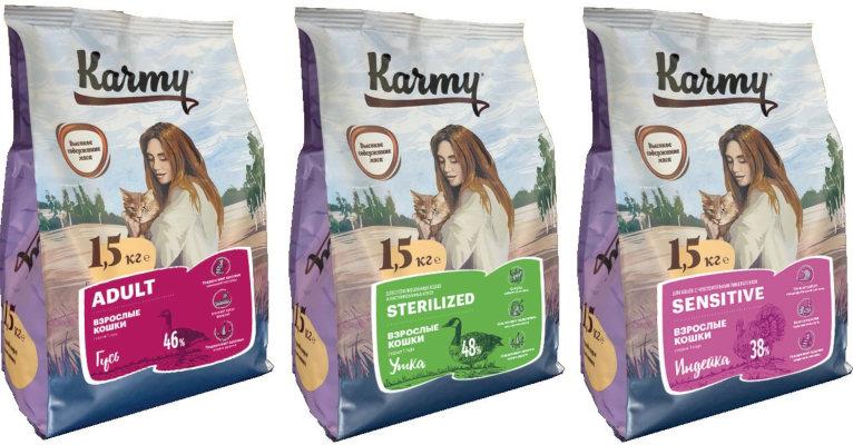 Корм для кошек Karmy - отзывы