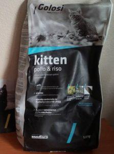 Отзыв о корме для котят Golosi