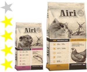 Корм для кошек Airi: отзывы и разбор состава