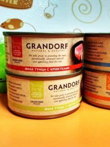 Хорошие влажные корма для кошек - Грандорф