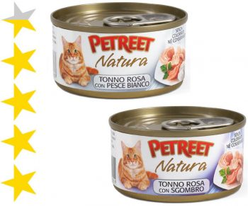 Консервы для кошек Petreet Natura