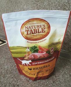 Отзыв о корме для кошек Nature's Table