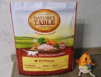 Отзывы о корме для кошек Nature's Table