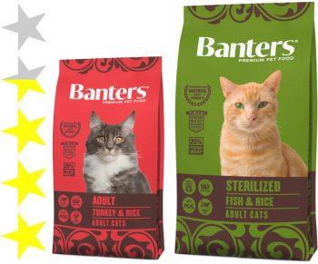 Корм для кошек Banters