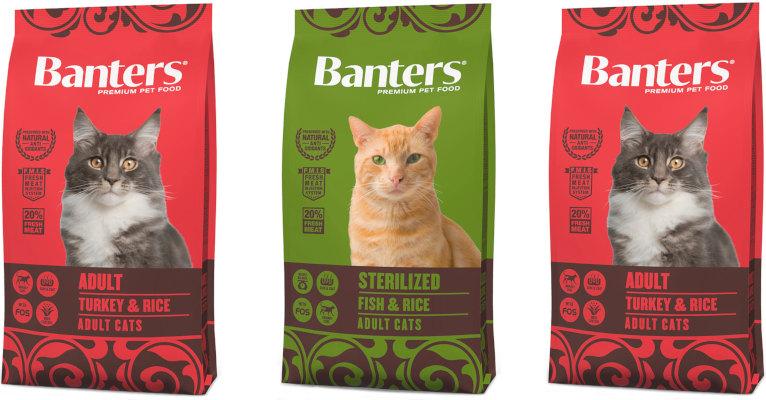 Корм для кошек Banters - отзывы