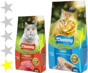 Корм для кошек Chammy