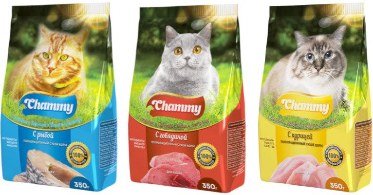 Корм для кошек Chammy - отзывы