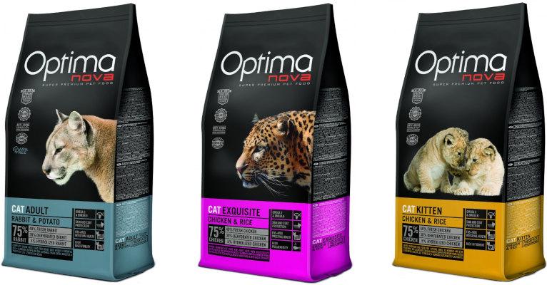 Корм для кошек Optima Nova - отзывы