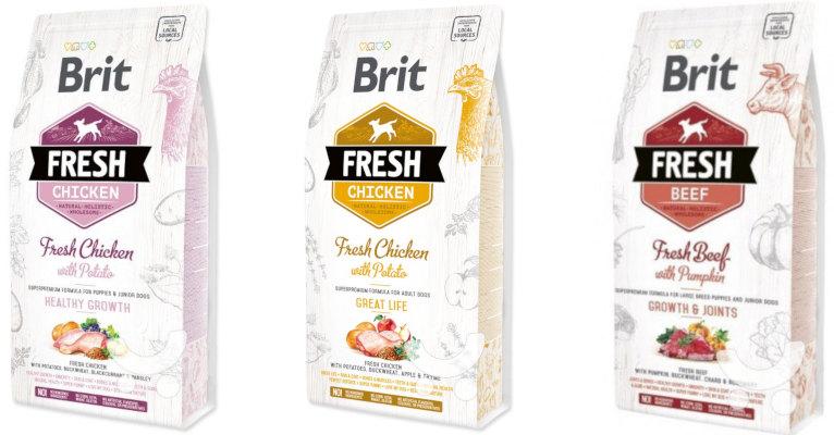 Корм для собак Brit Fresh - отзывы