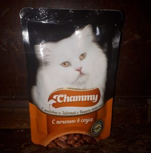 Отзыв о корме для кошек Чамми