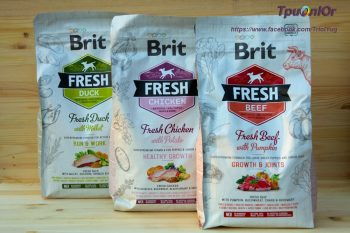 Отзывы о корме для собак Brit Fresh