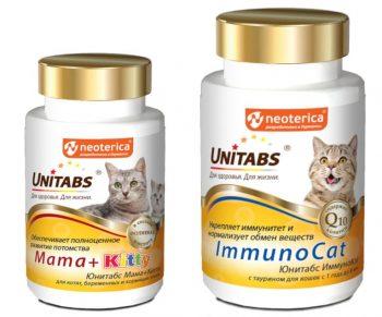 Витамины Unitabs для кошек