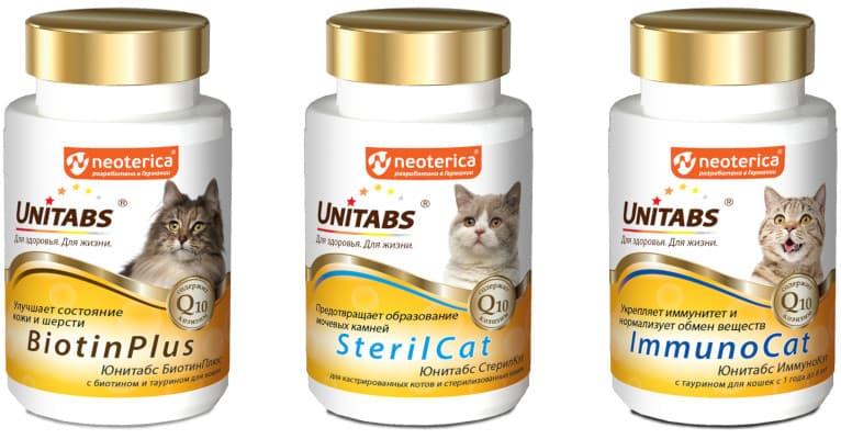 Витамины Unitabs для кошек - отзывы